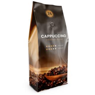 Zrnková káva Cappuccino 500g