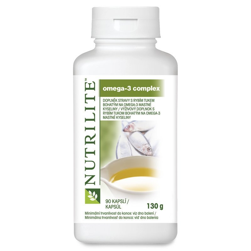 Omega-3 Complex NUTRILITE™ 90 tablet - Etiketa do 2017