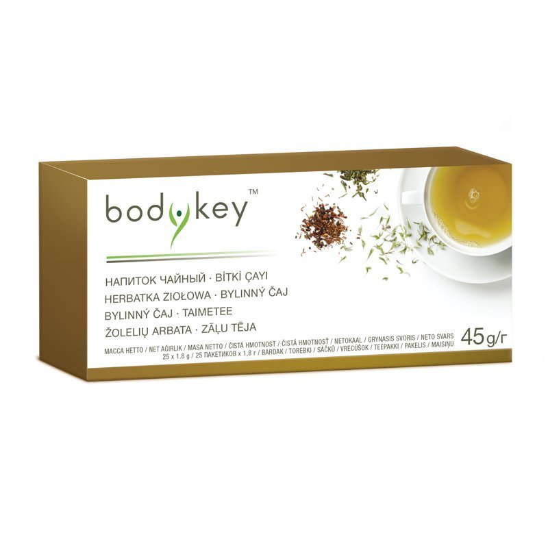 Bylinný čaj bodykey™ 25 ks