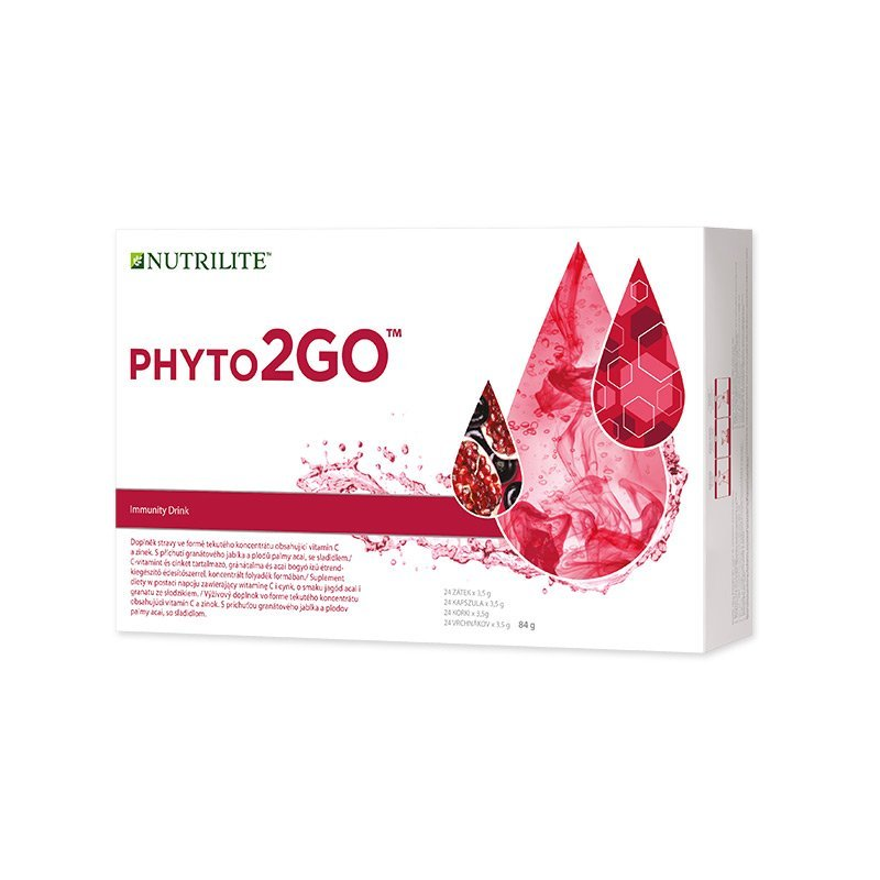 Zátky NUTRILITE™ Phyto2GO™ 84 g