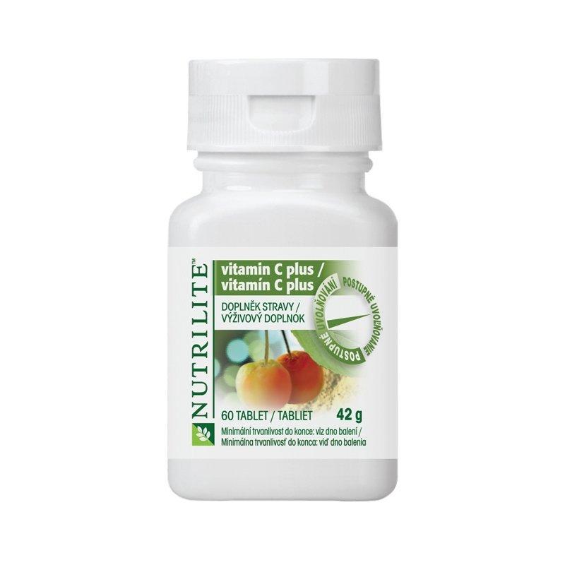 Vitamin C Plus NUTRILITE™ 60 tablet - Obal produktu používaný do 2017