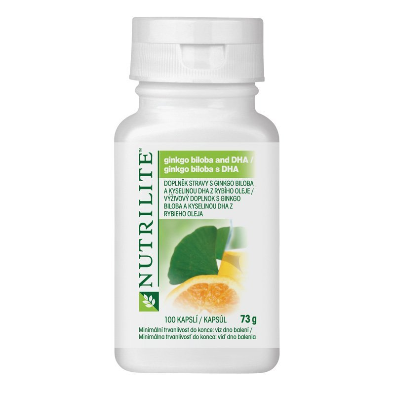 Ginkgo biloba and DHA NUTRILITE™ 100 tablet