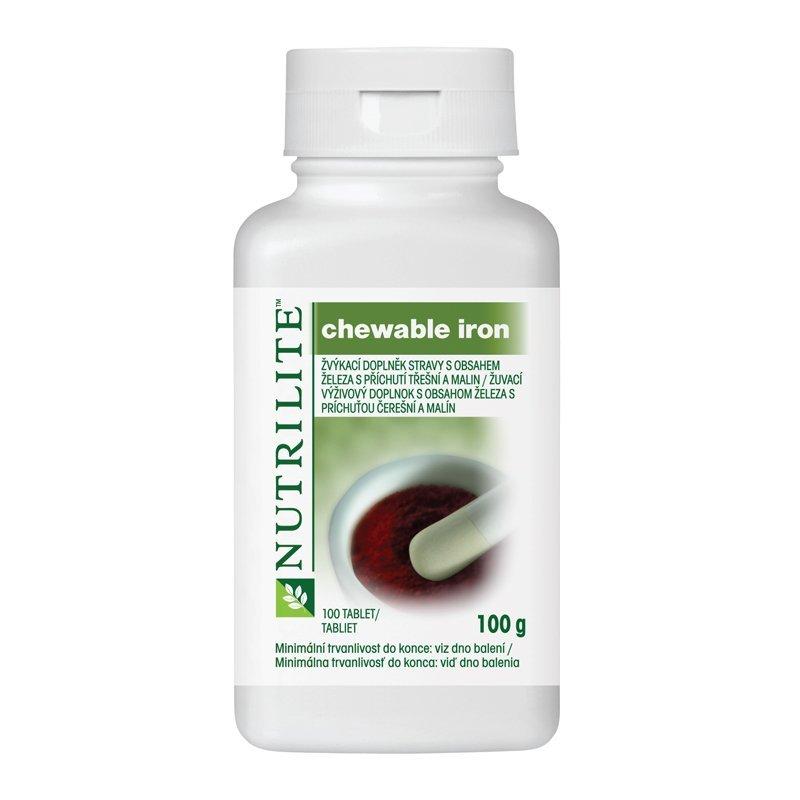 Chewable Iron NUTRILITE™ 100 tablet - starší verze obalu