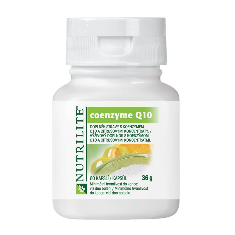 Coenzyme Q10 NUTRILITE™ 60 tablet - varianta obalu do 2017