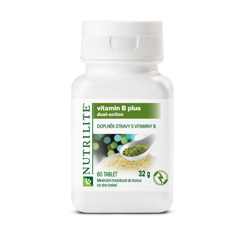 NUTRILITE™ Vitamin B Plus 60 tablet - podoba balení do 2018