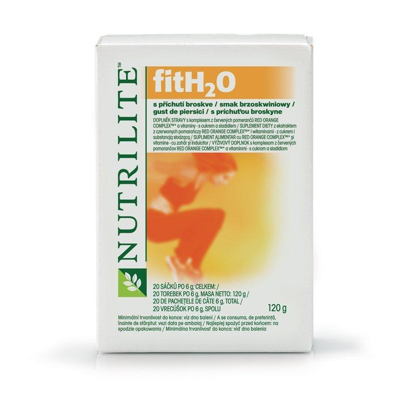 Nápoj obohacený o antioxidanty - s příchutí broskve NUTRILITE FITH2O™ 20 ks