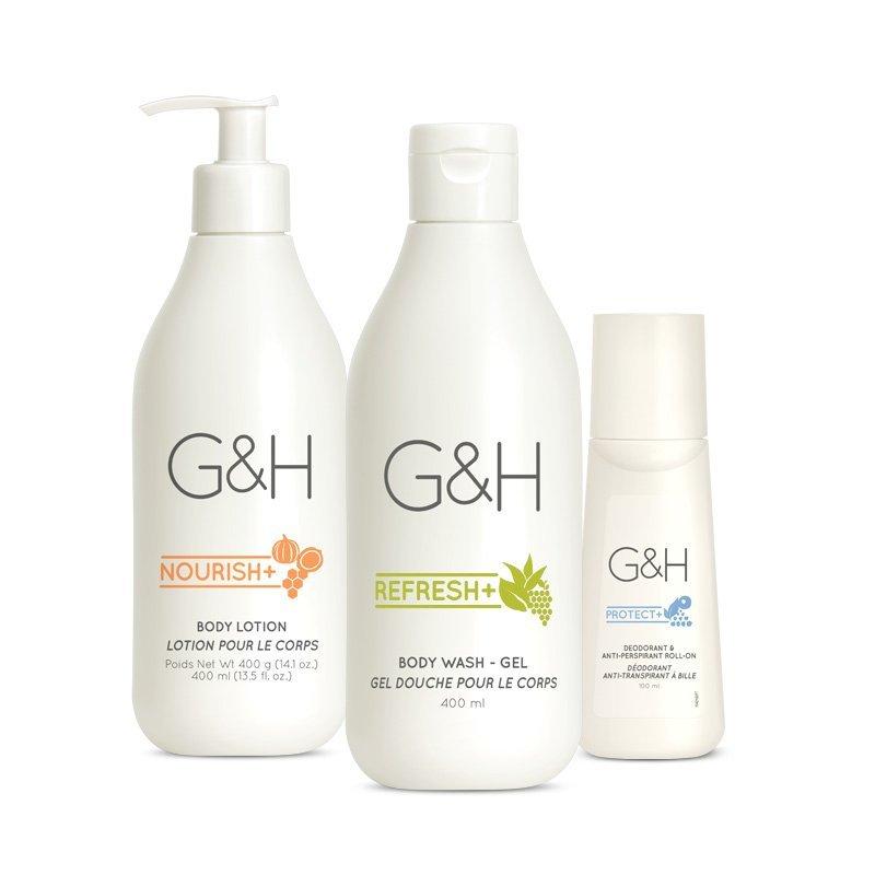 G&H Sada péče o suchou pokožku