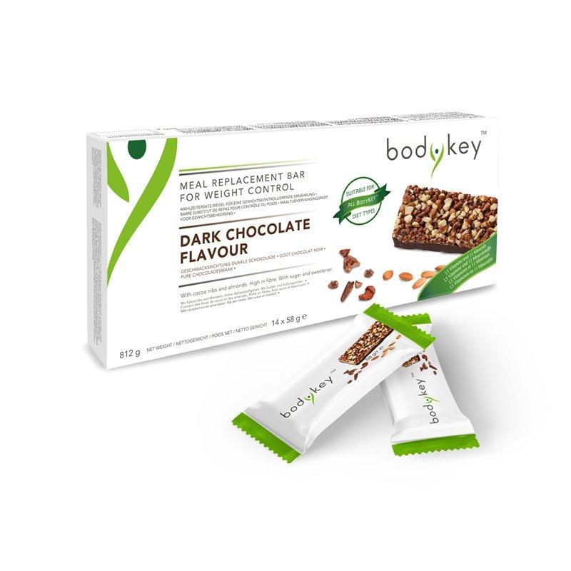bodykey by NUTRILITE™ TYČINKA – NÁHRADA JÍDLA PRO KONTROLU HMOTNOSTI S PŘÍCHUTÍ HOŘKÉ ČOKOLÁDY - 14