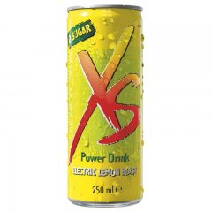 Power Drink Electric Lemon Blast - citronová příchuť XS™ 12 x 250 ml