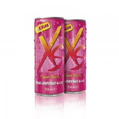 Power Drink Pink Grapefruit Blast - grapefruitová příchuť XS™ 12 x 250 ml - 2 balení