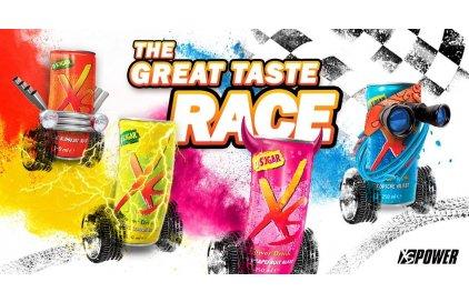 XSrace - závod chutí