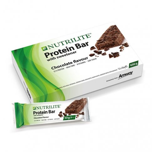 Proteinová tyčinka - příchuť čokolády NUTRILITE™ 12 ks
