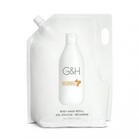 G&H NOURISH+™ Sprchový Gel – Náplň 1,6 l