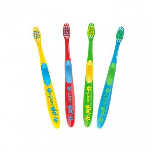 Glister™ Kids Dětské zubní kartáčky 4 ks
