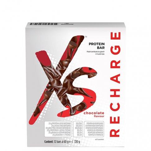 XS™ Proteinové tyčinky – příchuť čokolády 720 g