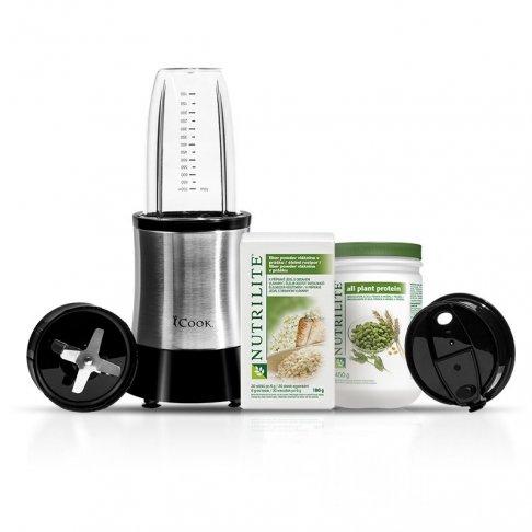 Balíček Nutrilite All Plant Protein NUTRILITE, Fibre Powder NUTRILITE a Mixér iCook