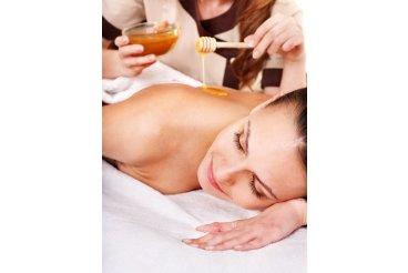 Honig-Teil-Massage