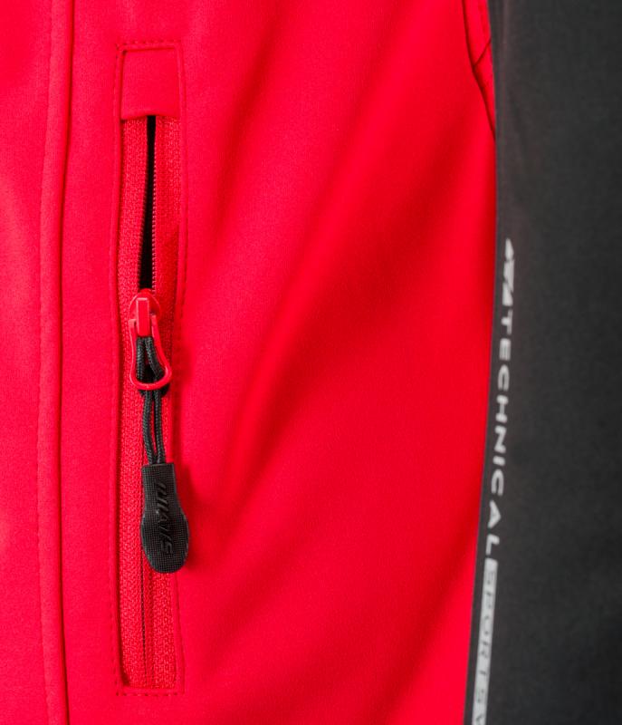 Silvini pánská bunda CASINO, red-black
