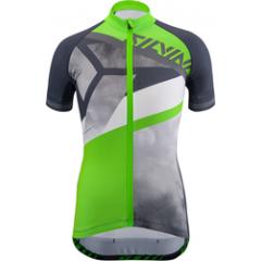 Silvini dětský cyklistický dres TANARO, charcoal-green