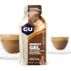 GU Energy 32 g Gel-caramel macchiato