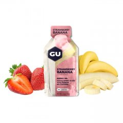 GU Energy 32 g Gel-strawberry/banana