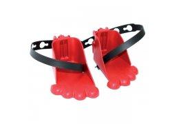 botičky pro přední sedačky BELLELLI, červené