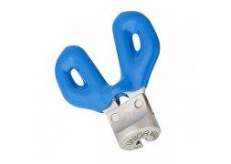 centrklíč UNIOR motýlek 3,3, modrý
