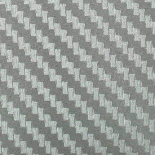 3D karbónová folia strieborná (š.1,27m)
