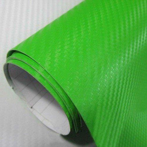 3D karbónová folia zelená (š.1,27m)