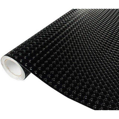 4D fólia s AIR FREE (mačacie oko) čierna (š.1,52m)