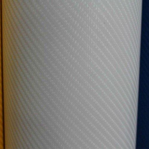 4D Karbónová fólia s AIR FREE Biela (š.1,52m)