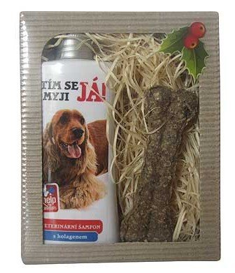 Darčeková kozmetika pre psov Kokeršpaniel- šampón + maškrta