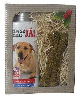 Darčeková kozmetika pre psov Labrador - šampón + maškrta