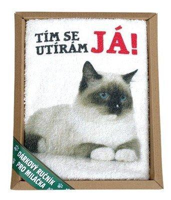 Darčekový uterák pre vášho zvieracieho miláčika - mačka
