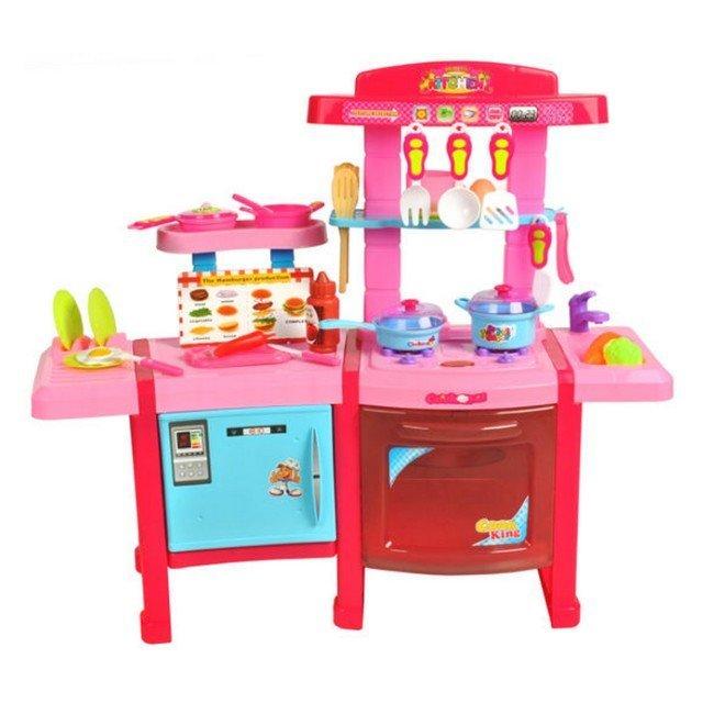 detska-kuchynka-matex-toys-velka-s-prislusenstvom-ruzova