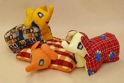 Dětský dekorativní polštářek 45x35 Slon