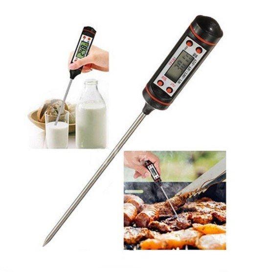 Digitálny teplomer na mäso s LCD - Verk