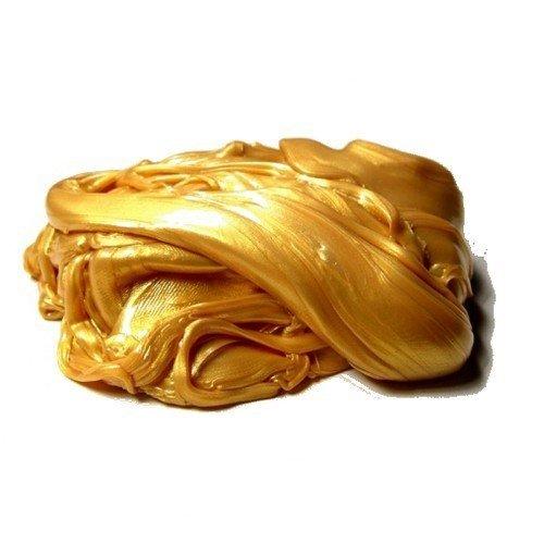 Inteligentní plastelína elektrická zlatá