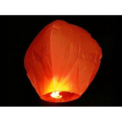 Lampión šťastia oranžový