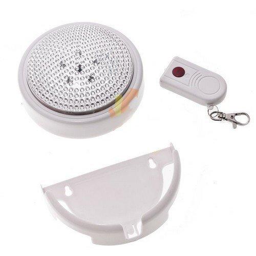 LED Lampička s dialkovým ovládačom