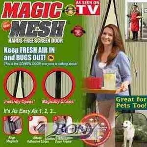 Magnetická sieťka proti hmyzu