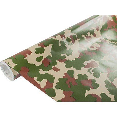Maskáčová karbonová folie LES (š. 1,52m)