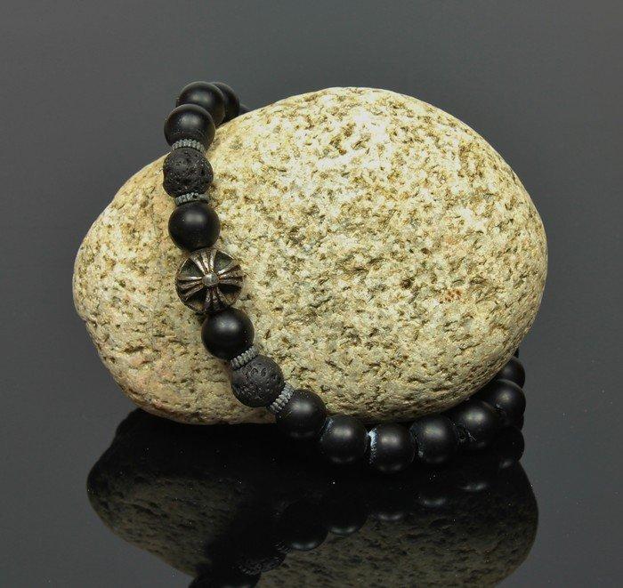 Náramok LK323 lávové kamene
