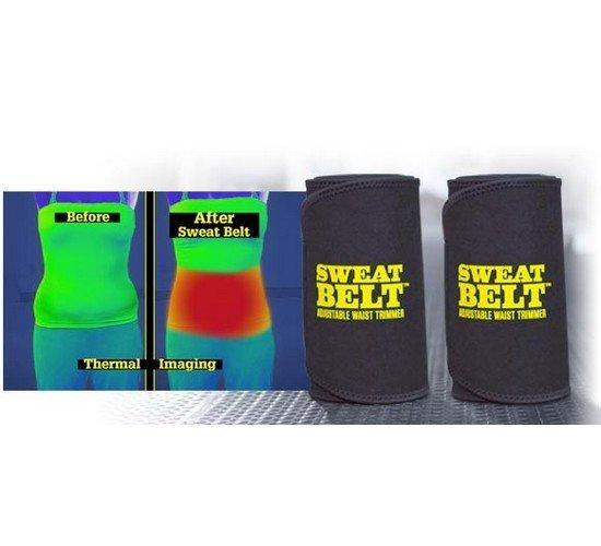 Pás na hubnutí Sweat Belt neoprenový