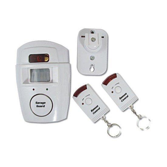 Prenosný alarm 105dB s dvomi diaľkovými ovládačmi