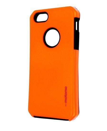 Púzdro Motomo Apple Iphone 5G/5S reflexné oranžové