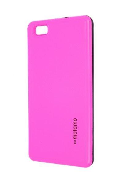 Pouzdro MOTOMO Huawei P8 Lite růžové