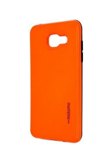 Pouzdro MOTOMO Samsung A510 Galaxy A5 2016 reflexní oranžové