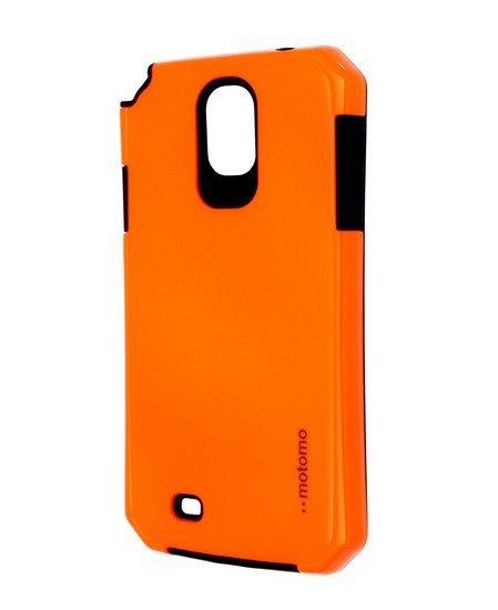 Pouzdro MOTOMO Samsung Galaxy S4 reflexní oranžové