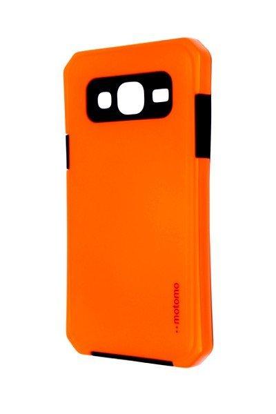 Pouzdro MOTOMO Samsung J310 Galaxy J3 2016 reflexní oranžové